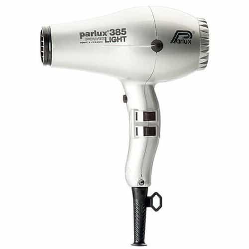 Фен Parlux 385 PowerLight Ionic & Ceramic серебристый