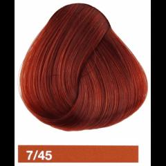 Крем-краска LAKME COLLAGE 7/45, средний блондин медно-махагоновый 27451