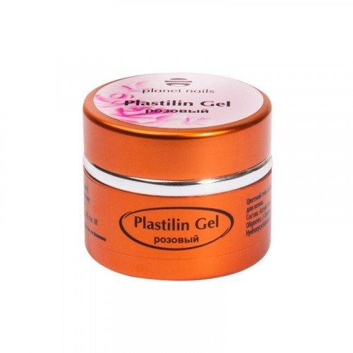 Гель-пластилин Planet Nails, Plastilin Gel, розовый, 5 г 11278