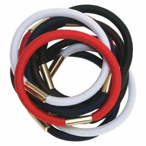 Резинки для волос Dewal, цветные, maxi 10 шт/уп RE020