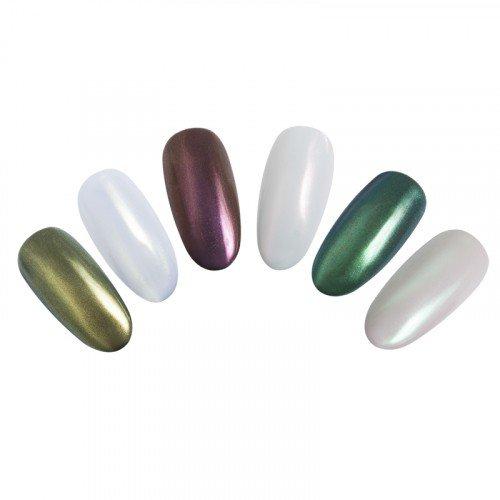 Втирка для ногтей Planet Nails, жемчуг, 3 гр 23047