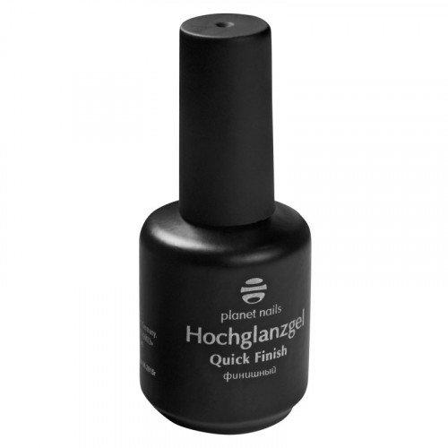 Гель Planet Nails - Hochglanzgel финиш без липкости с высоким глянцем 15 г 11025