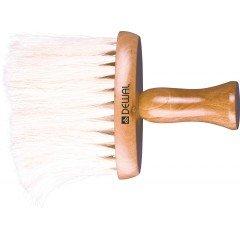 Кисть-сметка Dewal плоская, ручка-дерево, натуральная конская щетина NB1435