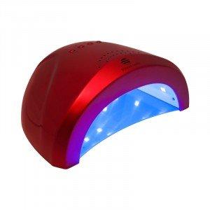 LED/УФ лампа 24/48 W Magnetic, бордовая 10199