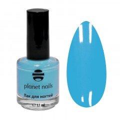 Лак для ногтей Planet Nails, с эффектом гелевого покрытия, 876, 17 мл 14876