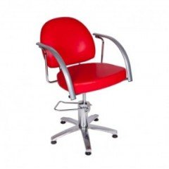 Кресло Имидж Мастер Глория гидравлика с пиастрой Красный 3022 Skaden (1,45) К-ГЛР2