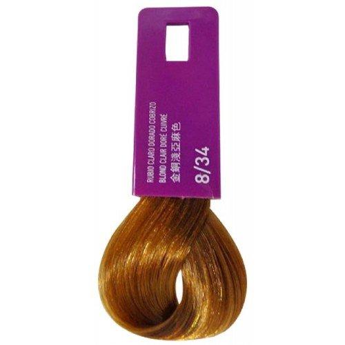 Тонирующая крем-краска Lakme Gloss Color Rinse 8/34, светло-белокурый золотистый медно-красный 38341