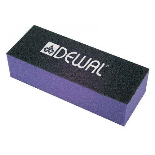 Брусок шлифовальный Dewal фиолетовый 9.5 см 80/80/100 9104004K