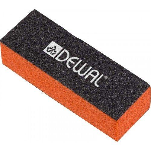 Брусок шлифовальный Dewal оранжевый 9,5 см 100/100/180 9104005K