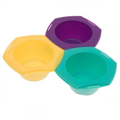 Набор Harizma для колориста из 3 цветных мисок h10960R
