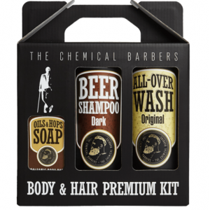 Набор The Chemical Barbers Beer Shampoo Gift Set Premium TCB25