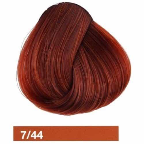 Купить крем-краску Lakme Collage 7/44, средний блондин медный яркий 27441
