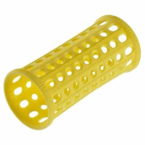 Бигуди Sibel пластиковые, желтые, 30 мм 10 шт. 4600732