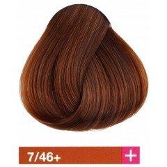 Крем-краска Lakme Collage 7/46+, средний блондин интенсивный медно-коричневый 27461