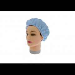 Шапочка для душа/химии Sibel пластиковая голубая 508063303